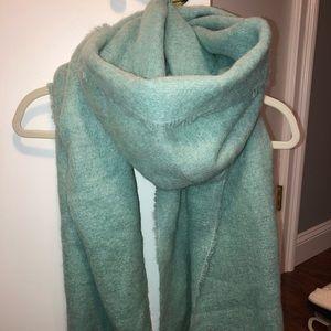 J.Crew wool blend scarf-shawl